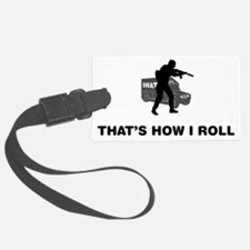 SWAT-Police-12-A Luggage Tag