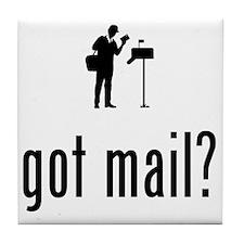 Mailman-02-A Tile Coaster