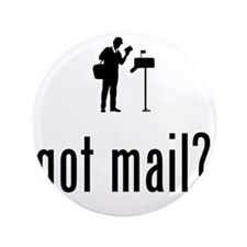 """Mailman-02-A 3.5"""" Button"""