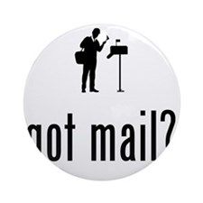 Mailman-02-A Round Ornament