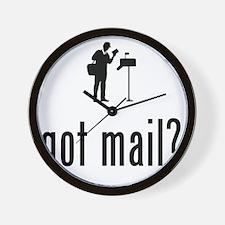 Mailman-02-A Wall Clock