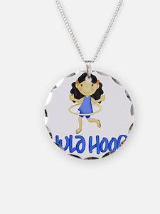 Hula Hoop -Blue- Necklace