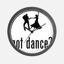 Dancing-02-A Wall Clock