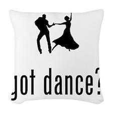 Dancing-02-A Woven Throw Pillow