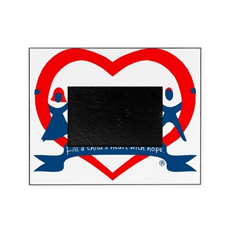 Delaware County CASA Logo Picture Frame by Admin_CP111015375