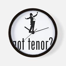 Opera-Singer-Tenor-02-A Wall Clock