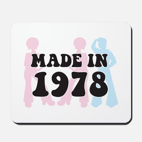 Made In 1978 Mousepad