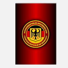 German Emblem Postcards (Package of 8)
