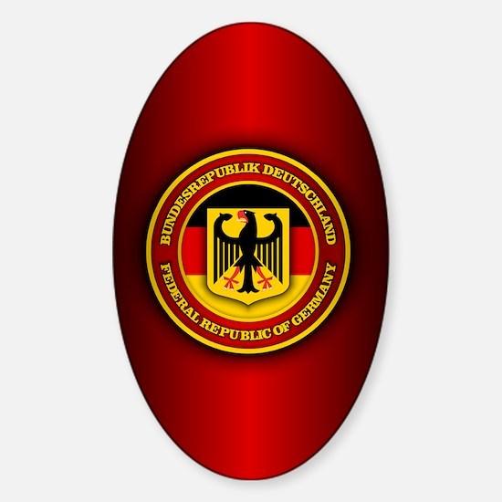 Germany Sticker (Oval)