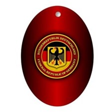 Germany Oval Ornament