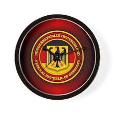 German Emblem Wall Clock