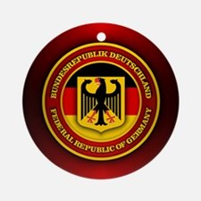 German Emblem Round Ornament