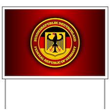 German Emblem Yard Sign