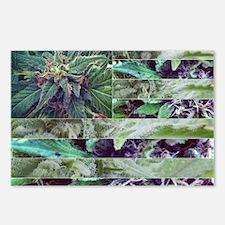 Marijuana Flag Postcards (Package of 8)