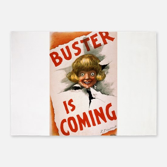 Buster is coming - US Lithograph - 1907 5'x7'Area