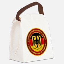 German Emblem Canvas Lunch Bag