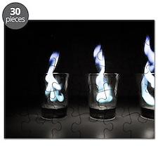 Flaming Shots Puzzle