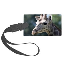 Giraffe Panel Print Luggage Tag