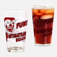 Pontchartrain Beach Clown Drinking Glass