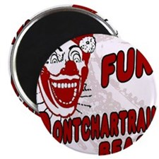 Pontchartrain Beach Clown Magnet