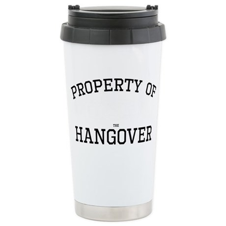 Hangover - Property Of Stainless Steel Travel Mug