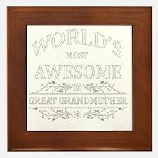 great grandmother Framed Tile