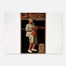 Busy Izzy 2 - US Lithograph - 1902 5'x7'Area Rug