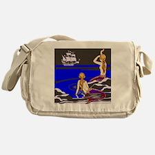 Mermaids Sirens Messenger Bag