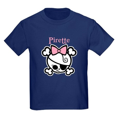 Pirette 1bw Kids Dark T-Shirt