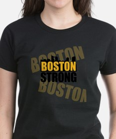 Boston Strong Orange Black Tee