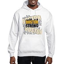 Boston Strong Orange Black Hoodie