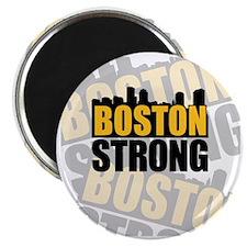 Boston Strong Orange Black Magnet