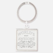sister in law Square Keychain