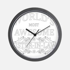 sister in law Wall Clock