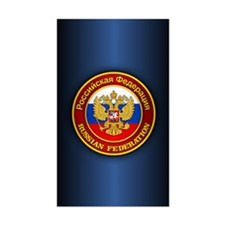 Russia COA (iphone snap) blue Decal