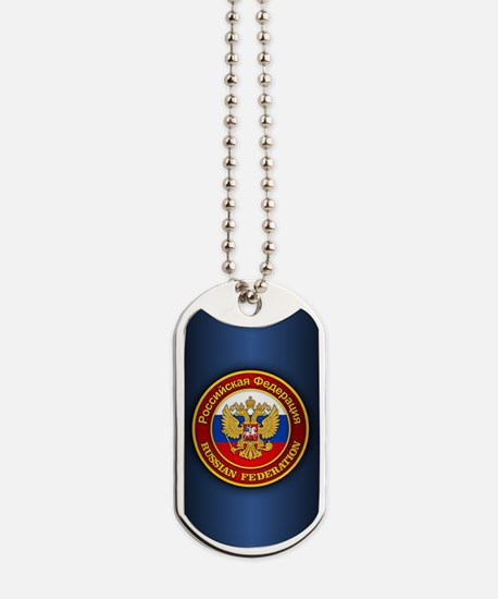 Russia COA (ipad2) blue Dog Tags