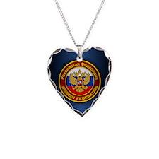 Russia COA (ipad2) blue Necklace