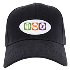 Eat Sleep Cigars Baseball Hat