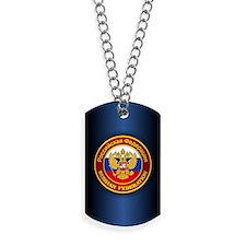 Russia COA (iphone 5) blue Dog Tags