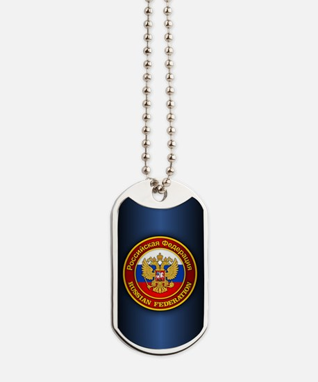 Russia COA (iphone 5) blue Dog Tags