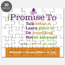 iPromise To...on White Puzzle