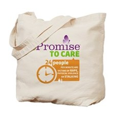 iPromise To Care on White Tote Bag