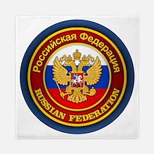 Russia COA (round) Queen Duvet