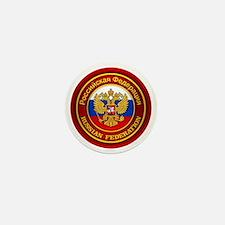 Russia COA (round) Mini Button