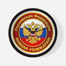 Russia COA Wall Clock