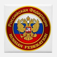 Russia COA Tile Coaster