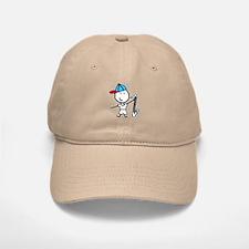 Boy & Bass Clarinet Baseball Baseball Cap