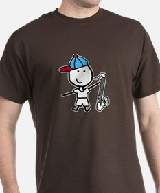 Boy & Bass Clarinet T-Shirt