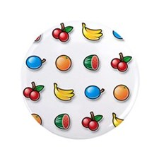 "100% Pure Fruit 3.5"" Button"