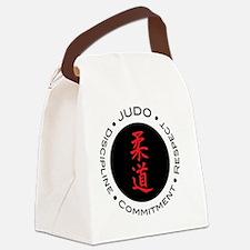 Judo Logo circle Canvas Lunch Bag